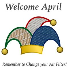 New research shows that you don't ever have to change your air filter... #AprilFools, yes you do!