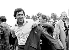 1980  After winning the Masters tournament, Ballesteros receives the green jacket. From 1982 to 1989, Seve Ballesteros finished in the top five at the Masters six times, winning a second green jacket in 1983.