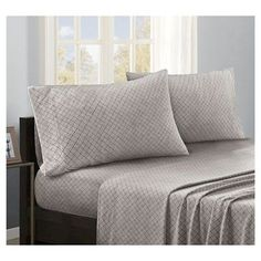 Micro Fleece Sheet Set, Grey