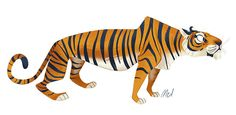 Various Animals by Melanie Matthews, via Behance
