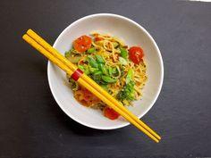 Asiatische Mie-Nudeln mit Gemüse, gebraten, ein beliebtes Rezept aus der Kategorie Braten. Bewertungen: 57. Durchschnitt: Ø 4,4.