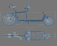 Dog Trailer, Bike Trailer, Bullitt Cargo Bike, Custom Radio Flyer Wagon, Three Wheel Bicycle, Velo Cargo, Bike Photo, Touring Bike, Bike Frame