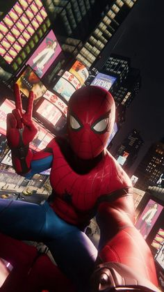Spider-Man Far From Home: Does the film announce the arrival of another superhero marvel? Amazing Spiderman, All Spiderman, Spiderman Poses, Marvel Fan, Marvel Heroes, Marvel Avengers, Captain Marvel, Man Wallpaper, Marvel Wallpaper