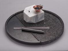 FRACTAL estudio + arquitectura: Santa Clara: Organizadores de mármol y cobre