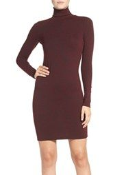French Connection 'Sweeter' Turtleneck Sweater Dress $98