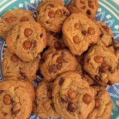 """Salted Caramel Chocolate Chip Cookies I """"Delicious and amazing! I used Kraft caramel squares."""""""