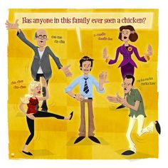 Bluth Family Chicken Dance by Ian Glaubinger - arrested-development Fan Art