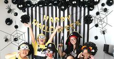 2017年のハロウィンパーティーは「まっくろくろすけ」をメインモチーフにモノトーンな飾り付けをしてみました。 Halloween Party, Halloween Ideas, Mickey Mouse, Happy Birthday, Disney Characters, Projects, Autumn, Youtube, Happy Brithday
