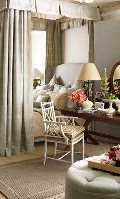 Chair love, desk love, headboard love. VT Interiors