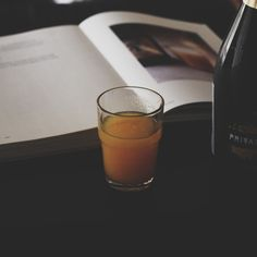 Bellini (Peach Puree & Lambrusco) Peach Puree, Bellini, Glass Of Milk, Drinks, Food, Style, Drinking, Swag, Stylus
