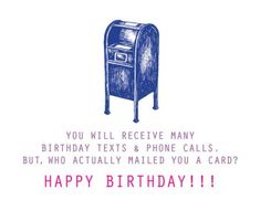 42 Best Funny Birthday Pictures & Images - My Happy Birthday Wishes Funny Happy Birthday Pictures, Happy Birthday Funny, Funny Birthday Cards, Handmade Birthday Cards, Happy Birthday Wishes, Birthday Text, Card Card, Hand Drawn, Teen