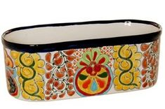Talavera Oval Window Box  1350L x 575W x 475H * More info could be found at the image url.