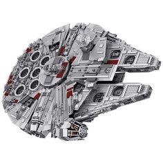 Faucon Millenium Star Wars Blocs Lego 5382 pièces