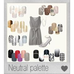 """""""Neutral Jamberry Palette 2014"""" by dawn-moser-mckenzie on Polyvore"""