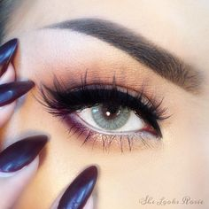 Solotica - Natural Colors (w/ thin limbal rings. NC) in Cristal / Crystal #makeup #eye #color #contacts Light Blueish Greenish Gray colored contacts, Brazilian colored contact lenses Solotica
