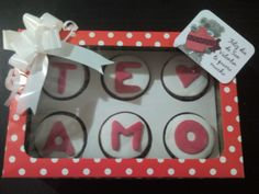 San Valentin, cupcakes.