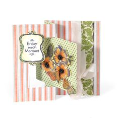 Sizzix Flip It Card Dies by Stephanie Barnard  Card by Debi Adams