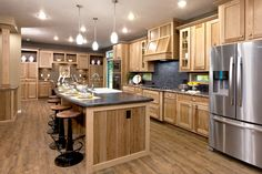 Contemporary Style Kitchen with Restoration Decorative Accents and Furniture by www.Expressionsdecor.com