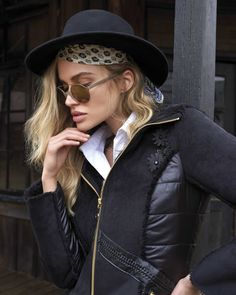 Blondes, Leather Jacket, Jackets, Inspiration, Beautiful, Fashion, Pictures, Fall Winter, Clothing