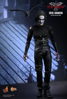 1ea20f2e511 Hot Toys   The Crow - Eric Draven 1 6th scale collectible figure Crow  Costume