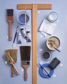Painted Furniture Tools