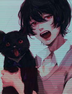 Manga Drawing, Manga Art, Gato Anime, Desu Desu, Anime Art Fantasy, Fanarts Anime, Epic Art, My Demons, Manga Illustration
