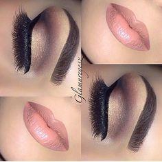 Simple clean make up Kiss Makeup, Cute Makeup, Gorgeous Makeup, Hair Makeup, Pretty Makeup, Clown Makeup, Simple Makeup, Halloween Makeup, Fox Makeup