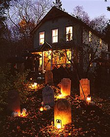 The Haunted House Party - Recipes, Crafts, Home Décor and More | Martha Stewart