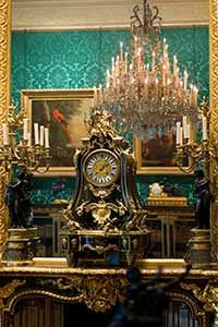 Wallace Collection: the salons are filled with sumptuous furnishings and priceless paintings. Hertford House, Manchester Square, London WIU 3BN
