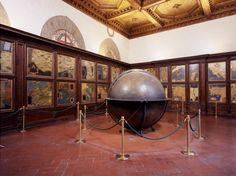 Hall of Geographical Maps, Palazzo Vecchio, Florence.