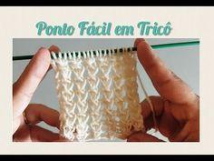 Knitting Designs, Knitting Stitches, Knitting Patterns, Knit Crochet, Youtube, Loom Knitting, Baby Embroidery, Lace Knitting, Knitting