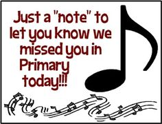 We missed you notes (door hanger and postcards)