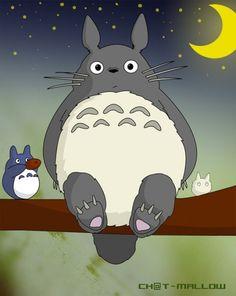 Totoro- will be a next tattoo!! I <3ed him as a kid!!