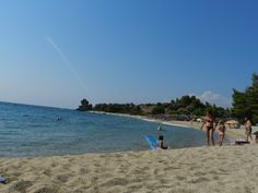 Greece, Sithonia, Lagomandra beach