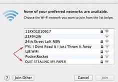 Super rude. | 29 Most Passive Aggressive Wi-Fi Network Names