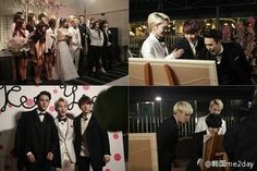 [PIC] 140517 WGM Key-Arisa Wedding Episode Will today be Attended by Woohyun, Suho, Jonghyun, Taemin, Apink & etc. Pic.twitter.com/wtcH5n5yso