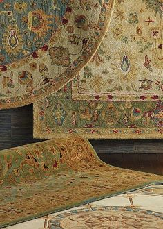The construction of a rug is a clue to how a rug will look, feel and perform. Learn about the different type of rugs, from hand-knotted to powerloomed.