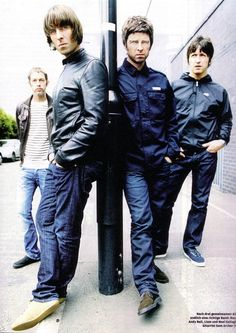 Oasis - Andy, Liam, Noel and Gem. Music Love, Music Is Life, Rock Music, My Music, Indie Music, Liam Gallagher Oasis, Noel Gallagher, Foo Fighters, Radiohead