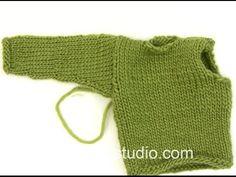 Garnstudio Drops design's Videos on Vimeo Knitting Patterns Free, Free Knitting, Baby Knitting, Free Pattern, Drops Design, Crochet Diagram, Stockinette, Baby Sweaters, Chain Stitch