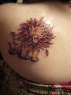 Simba tattoo