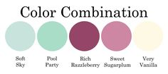 Color Combo-003 - Stampin Up