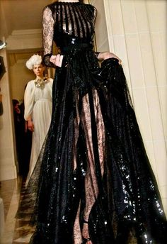 Giambattista Valli Haute Couture 2015 | Giambattista Valli 2013 Sexy Black Dress
