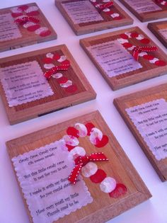 Be sure to read the poem!!! So sweet! Thumbprints make this cute candy cane craft!