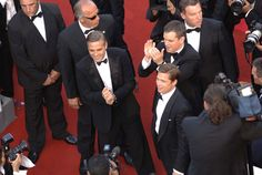 Shia LabeoufGeorge Clooney, Matt Damon et Brad Pitt Vous aussi, portez les plus belles tenues en les louants sur www.placedelaloc.com ! #consocollab #cannes #festivaldecannes