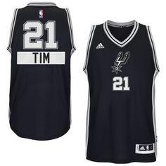 San Antonio Spurs #21 Tim Duncan 2014 Christmas Day Big Logo Swingman Jersey