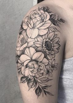 56 Arm Tattoo for women Ideas that Are Simple Yet Have Meaning Arm Tattoo for women Ideas that. Half Sleeve Tattoos Lower Arm, Unique Half Sleeve Tattoos, Arm Sleeve Tattoos, Tattoo Sleeve Designs, Shoulder Cap Tattoo, Shoulder Tattoos For Women, Arm Tattoos For Women, Tattoo Women, Side Thigh Tattoos Women