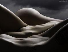 Photograph Bodyscape under an Icelandic sky (II) by Manel García on 500px