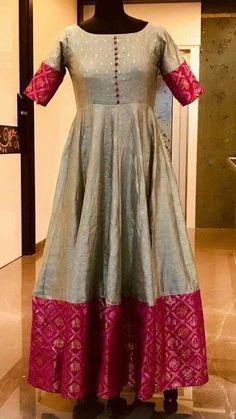 Dress made out of saree