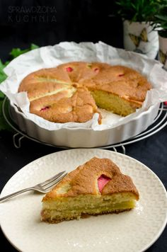 lekkie ciasto rabarbarowe French Toast, Tacos, Mexican, Sweets, Breakfast, Cake, Ethnic Recipes, Food, Thermomix
