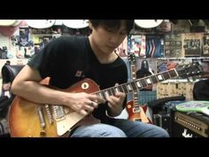 Tokai Ls-85 Loverock Guitar Drive Sound Demo - YouTube